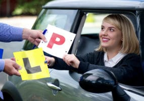 Girl receives P plate license and new car from Brisbane Car Brokers