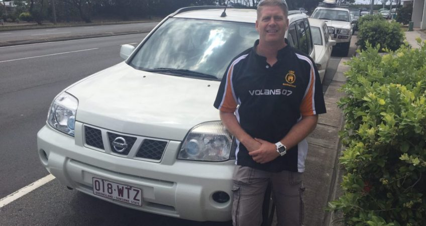 Happy customer Jess and his new Nissan from Brisbane Car Brokers